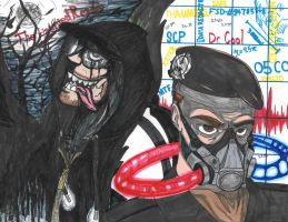 TheHauntedReader/Dr. Cool by LazzyDawg17