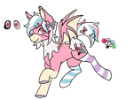 Sprinkles Pony Ref by thiccs