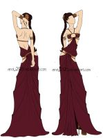 My Own Slave Leia Costume by andy295
