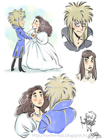 Labyrinth Doodles by MarineElphie