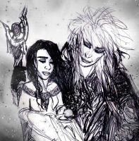 jareth and sarah by Dollysmith