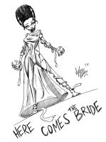 Here Comes The Bride by OuthouseCartoons