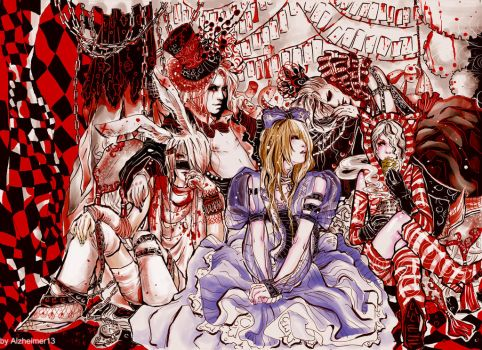 Gazette in Wonderland done by Alzheimer13