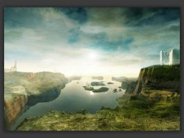 Wallpaper-evening at heaven by Swaroop
