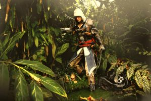 AC IV - Edward Kenway full shot by RBF-productions-NL