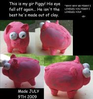 The Invader Zim Piggy by MaiShark