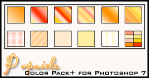 Popsicle Color Pack+ by redbonniekidd