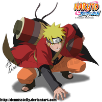 Naruto Sage Mode by DennisStelly