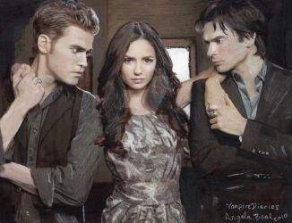 Vampire Diaries 2 by sketchychick