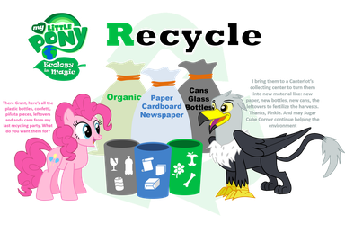 Ecology is Magic - The Three R's pt.03 Recycle by shadymeadow