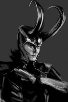 Speedpainting: Loki by apfelgriebs