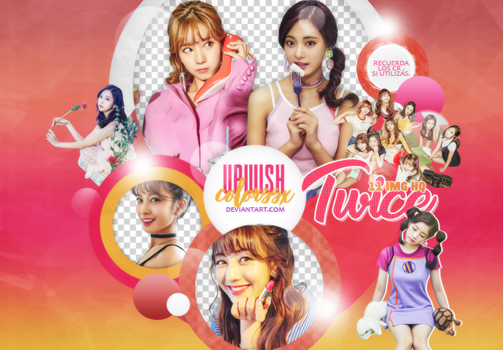 Twice PNG PACK #7/LIKEY by UpWishColorssx