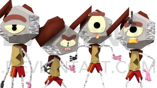rob except with improved expressions + lazy posing by Dweebnut