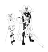 Character Design: Goth magical Girl by IngDamnit