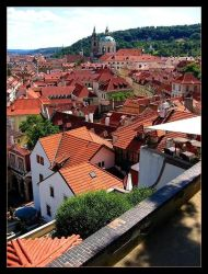 Roofs of Prague by Fishermang