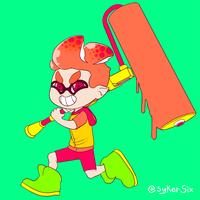 Squid Kid.1 by SYKER-SIX
