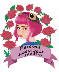 Ramona Flowers by resart5