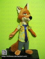 Nick Wilde Plush Toy by Richmen