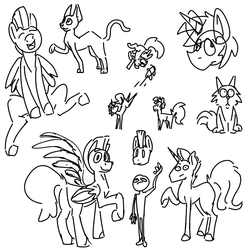 Doodle Page by Mythogamer