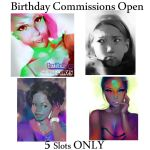 5 Slots opening | Commissions by HowlSeage
