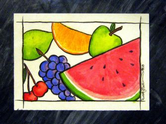 Juicy Piece of Fruit - SOLD by Destiny-Carter