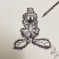 Marvin the Martian by Nephellim