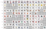 Transformer toy table: Autobots, part 1 by Kirby-Force