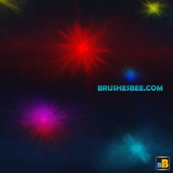 Space dots Brushes Set 1 by brightworld