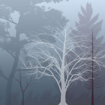 Fall and Winter Tree Brushes by just-Nate