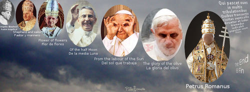 St. Malachy prophecy Facebook cover by photo-tlacuilopilo