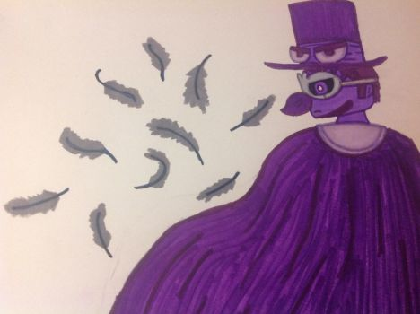 Quoth the Raven (marker version) by 1313cookie