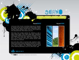 Website Partydesign by seayo