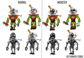 Adventures ennard's by shadowNightmare13