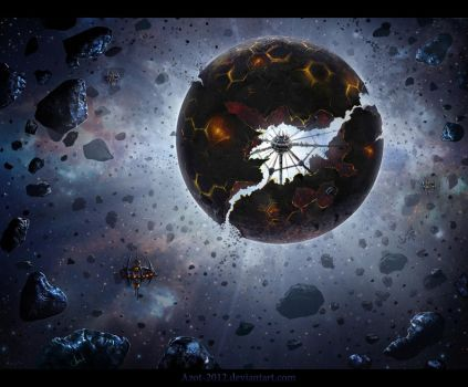Cyborg`s Planet by Azot2018