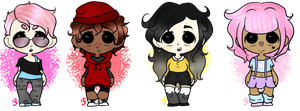 .: REDUCED PRICE Song Theme Adoptables! :1/4: :. by Salt--Prince