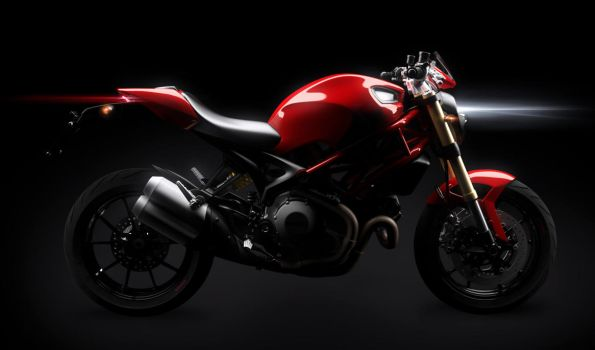 Ducati Monster 1100 EVO wip 2 by masvaley