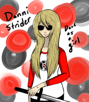 Dave Strider as a girl by Lolalilacs