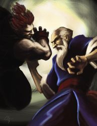 Street Fighter Tribute Contest by rook-over-here
