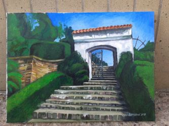 Chrast Park Gate (FINISHED) by Calucifer13