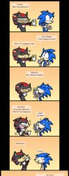 SONIC YOU FOOL by vaporotem