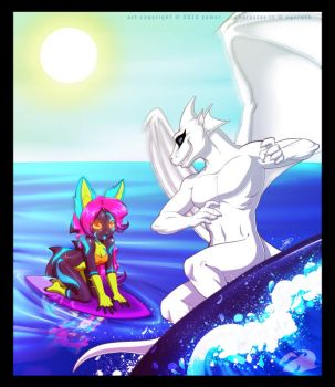 Surf's up! by ageroth