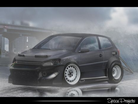 Vw Polo Dragster by FabinhoDesigner