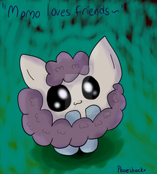 Momo Loves Friends~ [Tablet Test] by Phoeshock