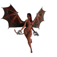 STOCK: Hellborn Chandrani Succubus Prototype by ambient-avalancher