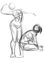 10-30 second gestures by monettheartist