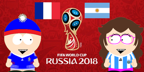 France Vs Argentina by FrenchKidSPCreator