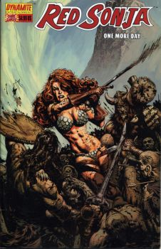 Red Sonja cover by LiamSharp