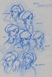 TMNT: April Expressions by hyperjack08