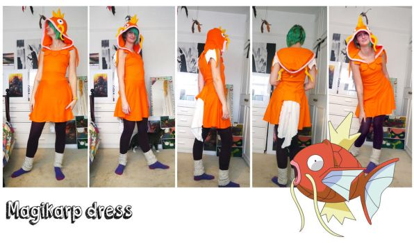 Magikarp dress by TrafficConeCreations