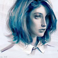CYAN by Camille-Marie